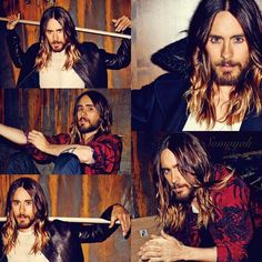 I think Jared Leto sold his soul to the devil... Not only is he ridiculously hot, his hair is perfect!