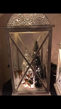 Unique DIY Christmas Lantern Decoration Ideas / Inspo - Hike n Dip - Gifts and Costume Ideas for 2020 , Christmas Celebration Lantern Christmas Decor, Christmas Table Centerpieces, Beautiful Christmas Decorations, Lantern Centerpieces, Lanterns Decor, Rustic Christmas, Xmas Decorations, Christmas Home, Christmas Holidays