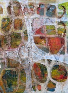 """Scott Bergey - """"Wasabi Up The Nose"""" 12 x 9 , acrylic on paper 2012 Abstract Expressionism, Abstract Art, Abstract Paintings, Claude Monet, Modern Art, Contemporary Art, Inspiration Art, Gravure, Art Plastique"""