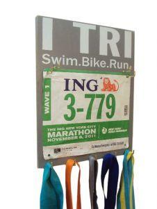 #Triathlons race bibs holder - I TRI Swim Bike Run  $33.99