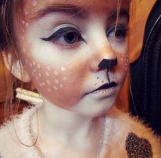 Fox Makeup, Kids Makeup, Reindeer Makeup, Reindeer Face Paint, Halloween Make Up, Halloween Face Makeup, Deer Costume, Face Painting Designs, Cute Costumes