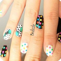 I'm running out of good things to say about all these awesome nail designs... so GOOD!