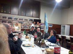 Los integrantes del Cas realizaron su reunión mensual donde compartieron una rica cena y entregaron certificados de membresía.