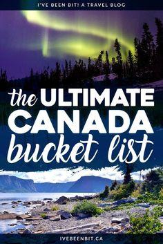 Canada is full of so many incredible experiences from coast to coast to coast. Each province and territory has something unique to offer, so whether you're travelling to British Columbia, Alberta Pvt Canada, Canada Vancouver, Visit Canada, Canada Eh, Prince Edward Island, Costa, Ontario, Adventure Bucket List, Adventure Travel