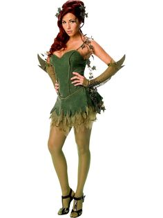 Are you Batman Poison Ivy Costume Ideas for Halloween or Cosplay? You find loads of great poison ivy costume ideas along with makeup tutorials, accessories Poison Ivy Costumes, Poison Ivy Halloween Costume, Costumes Sexy Halloween, Fete Halloween, Adult Costumes, Costumes For Women, Cosplay Costumes, Batman Costumes, Superhero Halloween