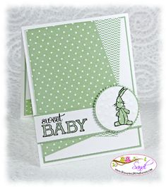 Stampin Up Baby, We've Grown card by Sandi @ www.stamping with sandi.com card recipe here:  http://stampingwithsandi.com/baby-weve-grown-freshly-made-sketches/