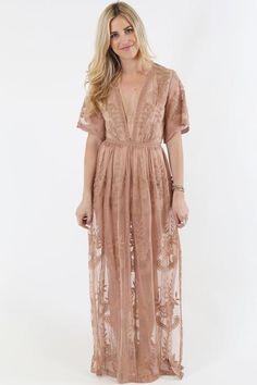 Open Road Maxi Dress – Nomad Boutique