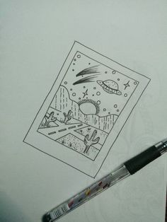 Drawing Illustration Doodle Tatto Design Tattoo - Drawing Illustration Doodle Tatto Design Tattoo - Art Cactus collection Cute doodles Drawn Art Cactus collection Cute doodles Drawn Just a Polaroid story doodle space polaroid desertlife Just Cute Easy Drawings, Cool Art Drawings, Pencil Art Drawings, Art Drawings Sketches, Doodle Drawings, Doodle Doodle, Drawing Ideas, Story Drawing, Tattoo Sketches