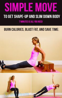 Simple move to get shape-up and slim down body. #ab_workouts