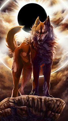 Anime Wolf Black Werewolves - The Universe of Manga Tier Wolf, Anime Wolf Drawing, Anime Sketch, Anime Art, Wolf Hybrid, Wolf Warriors, Wolf Artwork, Werewolf Art, Wolf Painting