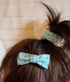 chouchou barrette en tissu Scrunchies, Diy Accessoires, African Necklace, Baby Couture, Barrette, Fat To Fit, Fit Women, Accessories, Diy Baby