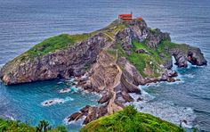 San Juan De Gaztelugatxe by Iker Otaola Larrea, via Places To Travel, Places To Go, Dream Vacations, The Good Place, Exotic, Around The Worlds, Water, Outdoor, Claudia Lars