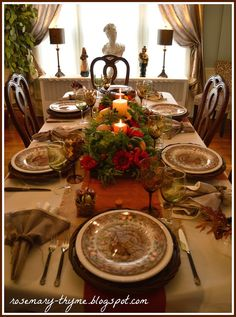 Rosemary and Thyme: Happy Thanksgiving To You All