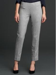 """Mad Men Collection from Banana Republic $128 These have to be the most perfect pants I've ever seen. And they're called a """"cigarette pant"""" Stop it."""