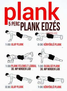 Five Minute Plank Workout. Kill your core. I doubt I'll do the workout as stated, but here's a summary of different types of planks. Fitness Workouts, Fitness Motivation, At Home Workouts, Fitness Plan, Fitness Abs, Plank Fitness, Form Fitness, Tips Fitness, Cardio Workouts