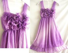 Bridesmaids dress for sarah? :) love the color!  Ruffle Chiffon Party Dress  Romantic Night Cocktail by midress, $29.00