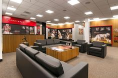 Stanford Football Offices and Locker Room | @Advent