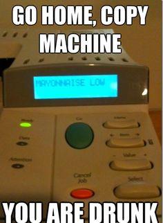 Hahaha... Silly technology.