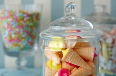 Candy jars from Amy Atlas
