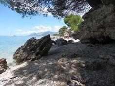 Baška Voda, Baško Polje - naše pláž - Chorvatsko