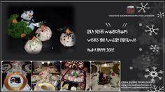 Happy Holidays by Crea Sushi Workshops