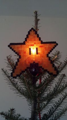 Large Mario Star Night Light by iamadecoy on Etsy, $13.00