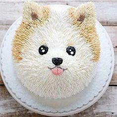 Dog Birthday, Birthday Parties, Birthday Cake, Mini Cakes, Cupcake Cakes, Espresso Cake, Puppy Cake, Animal Cakes, Dog Cakes