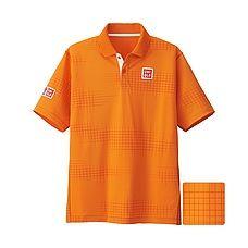 MEN Nishikori Dry Ex Polo Shirt (Australian Open 2016)