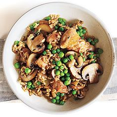 Chicken and Rice with Mushrooms Recipe