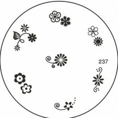 Discover MoYou Nails array of nail stamping image plates with MoYou Nail Fashion. Browse our fabulous styles now with MoYou Nails! Image Plate, Nail Stamping, Small Flowers, Flower Prints, Decorative Plates, Nail Art, Nails, Tableware, Stamps