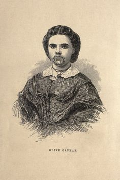 For more information about Olive Oatman, see Margot Mifflin's book: The Blue Tattoo: The Life of Olive Oatman.