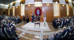 El Presidente Núñez Feijoó toma posesión de su cargo