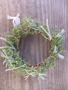 Dried Herb Wreath