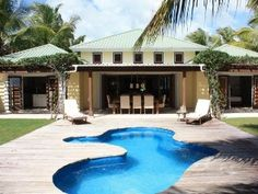 This would be great for a couple's getaway! So beautiful! St. John Villa Rental: Luxury Beach Front Villa Located In Jolly Harbour Antigua   HomeAway Luxury Rentals