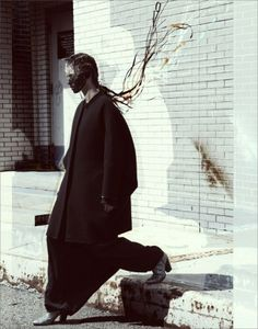 PHOTOGRAPHER GREGORY HARRIS for DAMIR DOMA F/W COLLECTION - STYLING BY TONY IRVINE - HAIR BY ANTHONY TURNER - MAKEUP BY YADIM