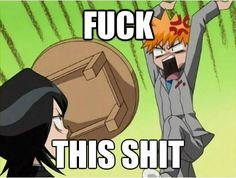 Read Durp from the story Funny Anime Pictures by NYB-angel (hey) with reads. From: Bleach Dankest Memes, Funny Memes, Emo Pictures, Ichigo And Rukia, Anime Rules, Anime Group, Funny Anime Pics, Anime Meme, Anime Gifts
