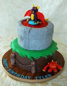 Skylanders birthday cake - Noah just told me today he wanted a Skylander cake for his bday.