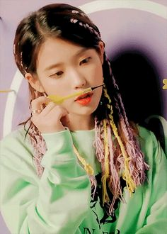 "blossominyoongi:""""IU ✧ BBIBBI(삐삐)"" "" Asian Actors, Korean Actresses, Kpop Girl Groups, Kpop Girls, Nct, Iu Gif, Shinee, Wonder Girls Members, Heart Meme"