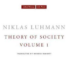 Theory Of Society Volume 1 PDF