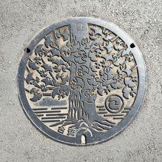 狛江市のマンホールカバー