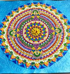Colourful Mandala made by me