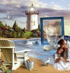 sea shore memories imikimi frames