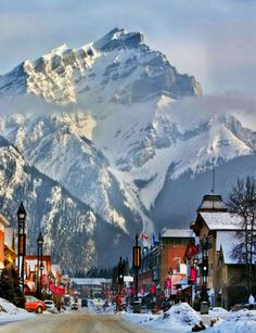Reasons to Start Planning Your Alberta Winter Vacation Banff, Alberta Canada......beautiful