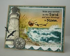 Stamps - Our Daily Bread Designs Keep Your Lamp Burning, The Mighty Sea, Happy Retirement!