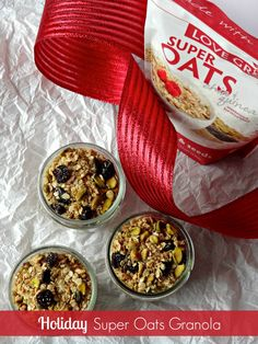 Holiday Super Oats Granola by Hillary from Nutrition Nut on the Run  https://www.facebook.com/LoveGrownFoods/photos/a.10152917125733130.1073741830.76876863129/10152917127013130/?type=3&theater