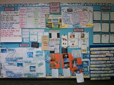 I love this GLAD Wall!! So many visuals and good strategies to teach language :)