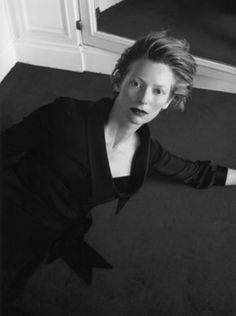 Tilda Swinton - fashion inspiration and one of my favorite actresses.