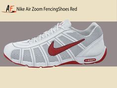 Nike Air Zoom Fencing Shoes White Sport Red-Lt Graphite Fencing Shoes 62ea4e9db