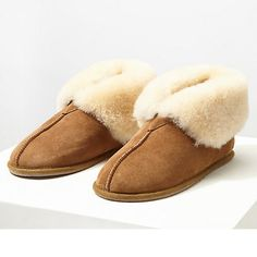 Buy Jigsaw Libby Sheepskin Boot Slippers, Tan Online at johnlewis.com