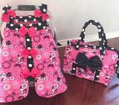Minnie mouse car seat canopy | Car seat canopy, Car seats and Minnie ...